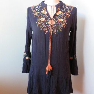 En Creme Embroidered Top or Dress